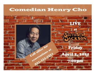 Henry Cho - April 2, 2021 - South Jackson Civic Center