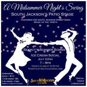 Ice Cream Social | July 22 | 2021 | South Jackson Civic Center