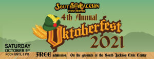 Octoberfest 2021 | Tullahoma | South Jackson Civic Center | October 9, 2021